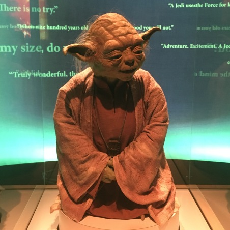 I sought sage words from Yoda.