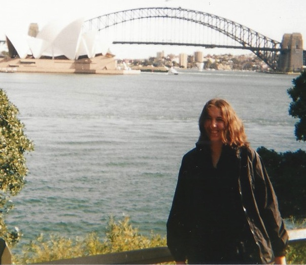 me and Sydney Opera House in background 7.17.01 crop