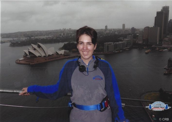 me on BridgeClimb 12.25.13
